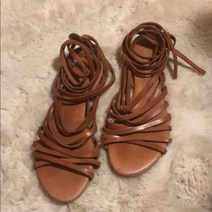 Vintage Adela Gil Strap Sandals